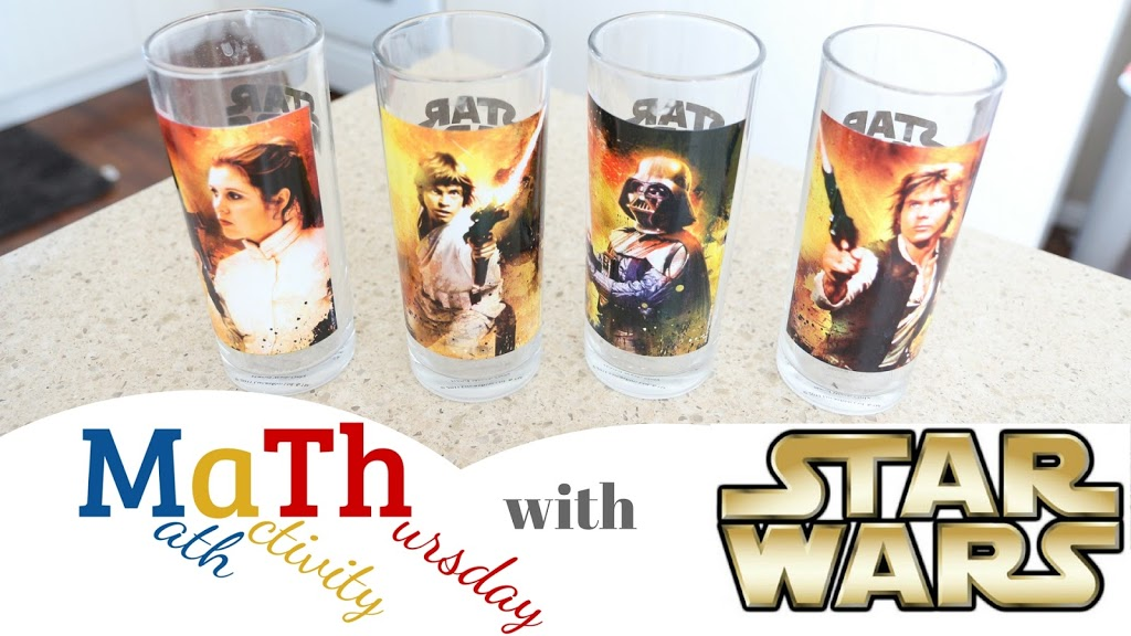#Math activity Thursday with Star Wars! Happy #StarWarsDay : )
