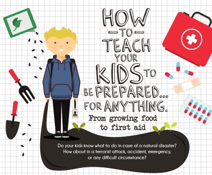 How to Teach Kids Survival Skills
